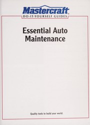 Cover of: Essential auto maintenance |