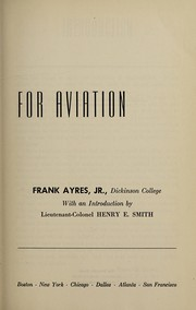 Cover of: Basic mathematics for aviation | Ayres, Frank