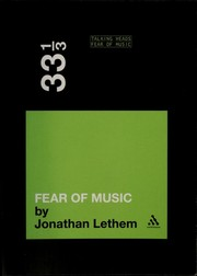 Cover of: Talking Heads' Fear of music