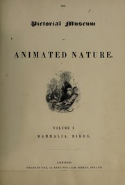 Cover of: The pictorial museum of animated nature