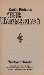 Cover of: The Unmasking | Emilie Richards