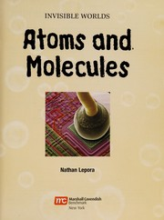 Cover of: Inside atoms and molecules | Nathan Lepora