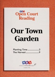 Cover of: Our town garden | Rebecca Blankenhorn