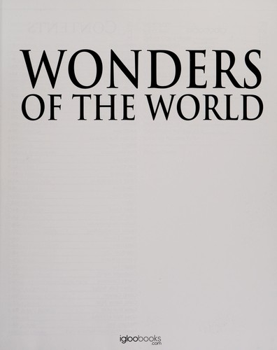 Wonders of the world by