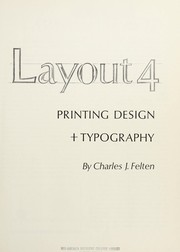 Cover of: Layout 4 | Charles J. Felten