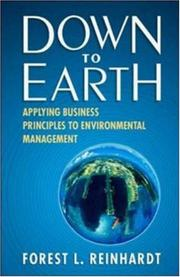 Cover of: Down to Earth