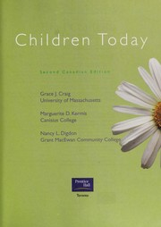 Cover of: Children today | Grace J. Craig