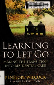 Cover of: Learning to let go