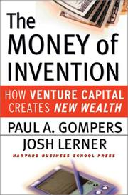 Cover of: The Money of Invention | Paul A. Gompers