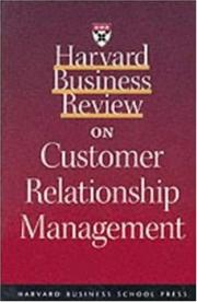 Cover of: Harvard Business Review on Customer Relationship Management | C. K. Prahalad