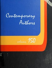 Cover of: Contemporary Authors (Vol. 150) | Kathleen J. Edgar