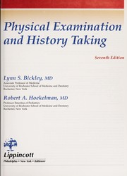 Cover of: Bates' guide to physical examination and history taking