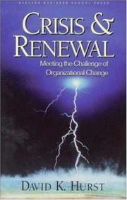 Cover of: Crisis & Renewal | David K. Hurst