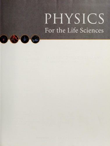 Physics for the life sciences by Martin Zinke-Allmang