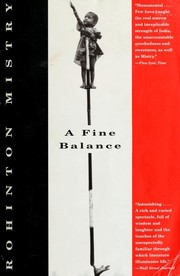 Cover of: A Fine Balance | Rohinton Mistry