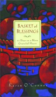 Cover of: Basket of blessings: 31 days to a more grateful heart