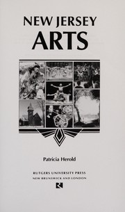 Cover of: New Jersey arts | Patricia Herold