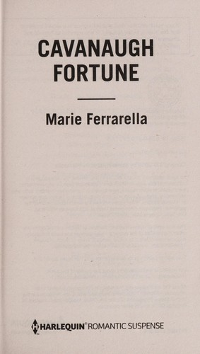 Cavanaugh fortune by Marie Ferrarella