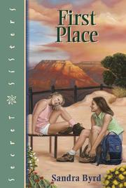 Cover of: First place | Sandra Byrd