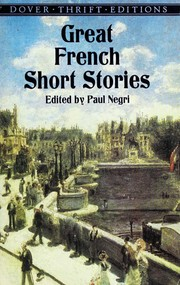 Cover of: Great French Short Stories | Paul Negri
