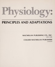Cover of: Animal physiology