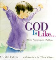Cover of: God is like--