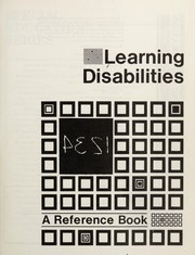 Cover of: Learning disabilities by