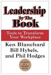 Cover of: Leadership by the Book