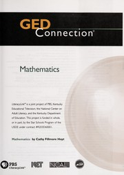 Cover of: GED connection mathematics | Cathy Fillmore Hoyt