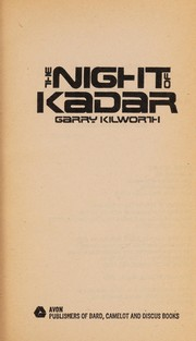 Cover of: The night of Kadar