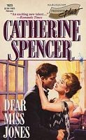 Cover of: Dear Miss Jones | Catherine Spencer