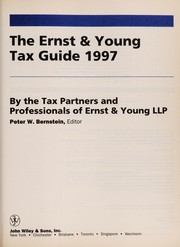Cover of: The Ernst & Young tax guide 1997 | Peter W. Bernstein