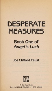 Cover of: Desperate Measures (Angel