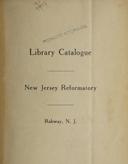 Cover of: Library catalogue | New Jersey. Reformatory (Rahway)
