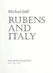 Cover of: Rubens and Italy | Michael Jaffe