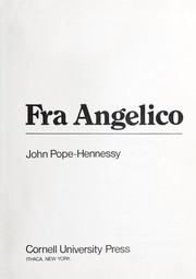 Cover of: Angelico