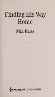 Cover of: Finding his way home | Mia Ross
