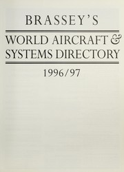 Cover of: Brassey's world aircraft and systems directory, 1996-97 | Michael J.H. Taylor ; foreword by Martin Blumenson.