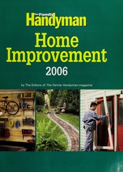 Cover of: The Family Handyman |