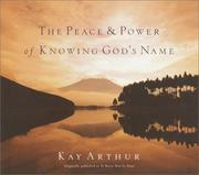 Cover of: The Peace & Power of Knowing God's Name