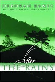 Cover of: After the rains
