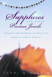 Cover of: Sapphires and Other Precious Jewels | Terri Mcfaddin