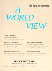 Cover of: A World view