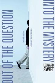 Cover of: Out of the Question...Into the Mystery