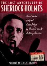 Cover of: The Lost Adventures of Sherlock Holmes | Ken Greenwald