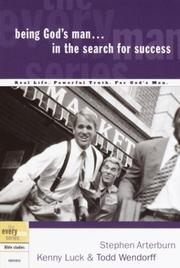 Cover of: Being God's Man in the Search for Success