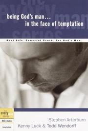 Cover of: Being God's Man in the Face of Temptation