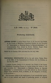 Cover of: Specification of Astley Paston Price | Astley Paston Price