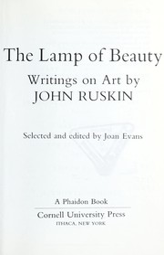 Cover of: The lamp of beauty: writings on art