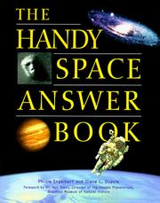 Cover of: The handy space answer book